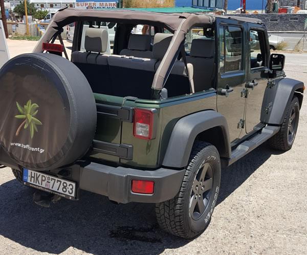 jeep cabrio automatik 5 personen zu vermieten auf kreta. Black Bedroom Furniture Sets. Home Design Ideas